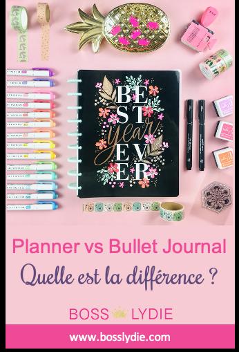 Image Pinterest 1 Article Planner vs Bullet Journal
