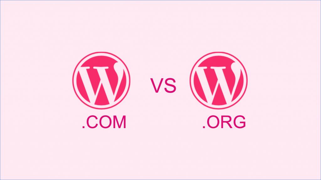 Vignette Wordpress.com vs Wordpress.org