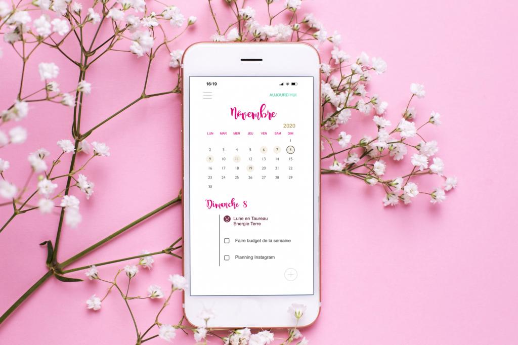 Vignette App Calendar Astro Productivté